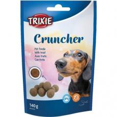 Cruncher - křupavé kuličky se pstruhem, 140 g