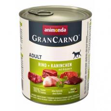 GRANCARNO Adult - králík + bylinky 800g