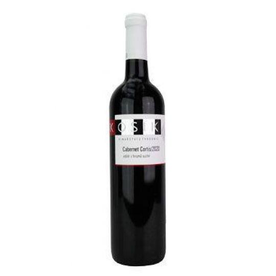 Víno Kosík Cabernet Cortis výb.hroz. 2020 0,75l