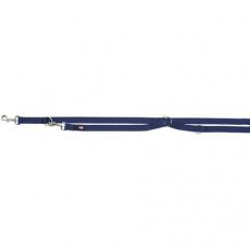 Vodítko PREMIUM prodlužovací, XS-S: 2,00m/15 mm, indigo