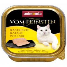ANIMONDA paštika PRO KASTRÁTY - krůta+sýr 100g