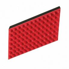 Masážní kartáč, přírodní guma 5 x 10 cm - DOPRODEJ