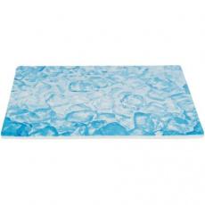 Chladící keramická podložka pro králíky, 35 x 25 cm, modrá