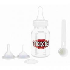 Kojenecký set, láhev 120 ml, 3 dudlíky, odměrka TRIXIE