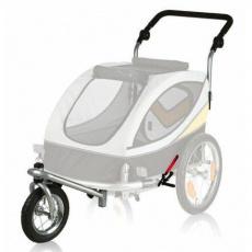 Přední kolo a držadlo k vozíku 12807, konverze na běhání - DOPRODEJ