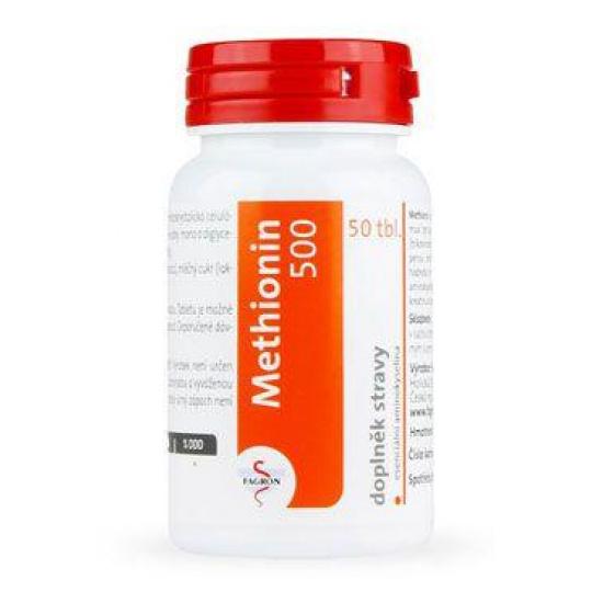 Methionin 500mg 100tbl Fagron