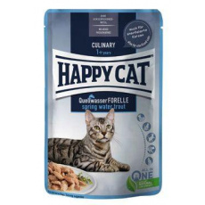 Happy Cat kapsa Meat in Sauce Culinary Pstruh 85g
