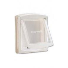 Dvířka plast Bílá STAYWELL 740 35x29cm 1ks