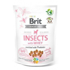 Brit Care Dog Crunchy Crack.Insec.Puppy Whey Prob 200g