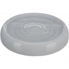Keramická miska na vodu, 0.2 l/ø 18 cm, šedá