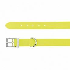 Easy Life obojek PVC L 51-59 cm/25 mm neon žlutý - DOPRODEJ