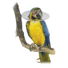 Límec ochranný plastový Bird Collar pro ptáky 14cm