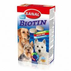 SANAL Biotin-kalciové tablety s biotinem 100 tbl/100 g - DOPRODEJ
