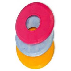 Hračka pes Disk MAX aport plovací Vanil. 18cm SP