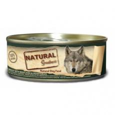 Natural Greatness kuřecí prsa, hovězí játra, zelenina, konzerva pro psy 156 g