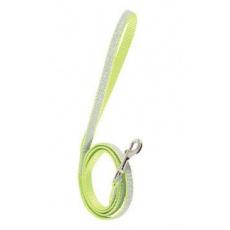 Vodítko kočka SHINY nylon zelené 1m Zolux