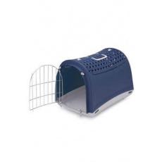 Přepravka pro kočky a psy Cabrio Modrá IMAC