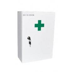 Lékárnička nástěn. dřevěná 42cm kompletní bílá 1ks