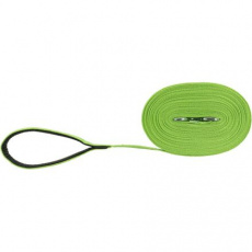 Stopovací vodítko bavlněné, M-L: 5m/20mm, jablkově zelená