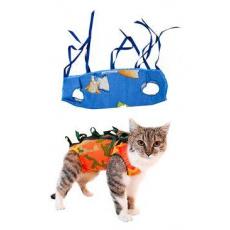 "Ochranná košilka ""LENKA"" kočka velikost M 1ks"