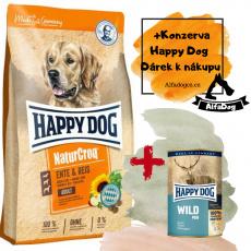 Happy Dog NaturCroq Ente & Reis 12 kg