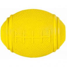 Rugby míč na pamlsky tvrdá guma 8cm