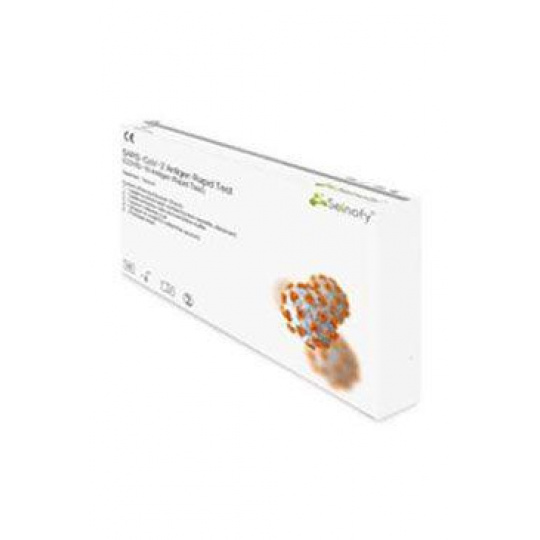 Test Samotest SARS-COVID Antig. Rapid z hlenu/slin 1ks