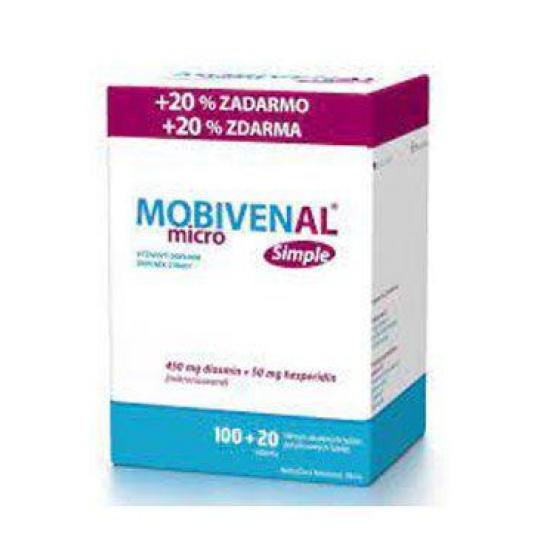 MOBIVENAL micro Simple 100+20tbl zdarma