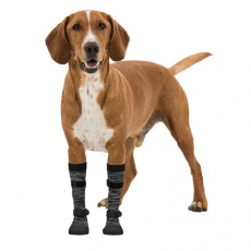 Chodící ponožky, ochrana pacek, protiskluzové L-XL 2 ks - DOPRODEJ