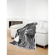 Deka TEXSTAR mikrovlákno 280g 150 x 200 cm, zebra - DOPRODEJ