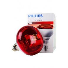 Žárovka infračervená 250W červená Philips