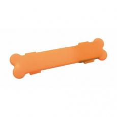 Flash USB svítící silikonový návlek 15 x 2,5 cm oranžový - DOPRODEJ (RP 2,10 Kč)