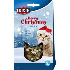 Vánoční hvězdičky s jehněčím, pamlsek pro kočky, 140 g