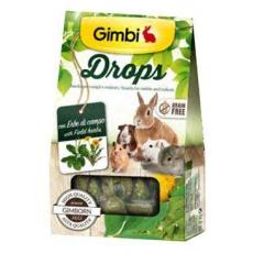Gimbi Drops pro hlodavce s polními bylinkami 50g