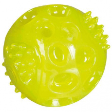 Blikací míček ø 6 cm, bez zvuku, plovoucí (i náhradní míč do 33648) (RP 2,10 Kč)