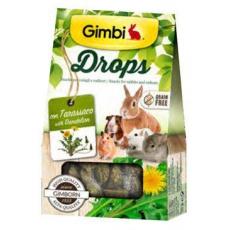 Gimbi Drops pro hlodavce s pampeliškou 50g