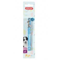 Vodítko pes štěně PIXIE modrá 8mm 1,2m Zolux