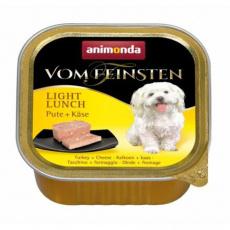 ANIMONDA paštika LIGHT LUNCH - krůta+sýr pro psy 150g
