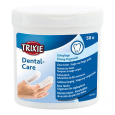 Zubní péče - jednorázové pečující návleky na prst, 50ks