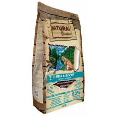 Natural Greatness Field,River Cat Recipe /losos,jehně/ 2 kg