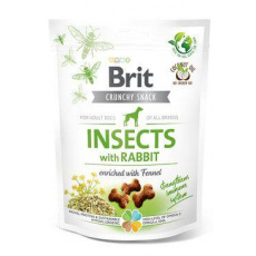 Brit Care Dog Crunchy Crack. Insec. Rabbit Fennel 200g
