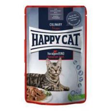 Happy Cat kapsa Meat in Sauce Culinary Hovězí 85g
