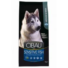 Cibau Dog Adult Sensitive Fish Medium & Maxi 2 x 12 Kg