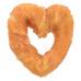 Denta Fun Chicken Heart [50ks], srdce z buvolí kůže omotané kuřecím masem 70 g