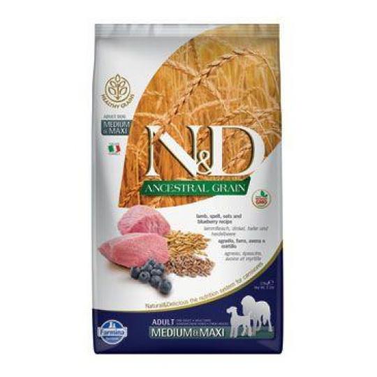 N&D LG DOG Adult M/L Lamb & Blueberry 2 x 12 kg