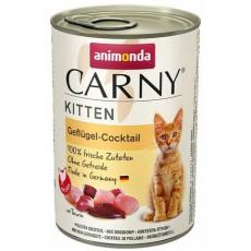 ANIMONDA konzerva CARNY Kitten - drůbeží koktejl 400g