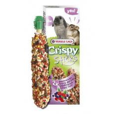 VL Crispy Sticks pro králíky/činčily Lesní ovoce 110g