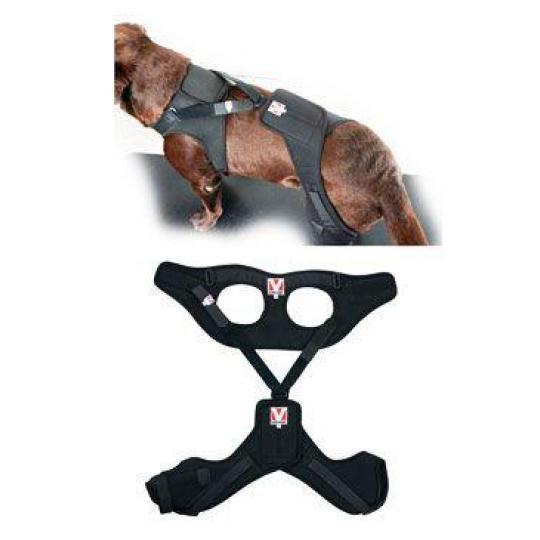 Bandáž Rehab Pro na koleno pro psa KRUUSE S levá