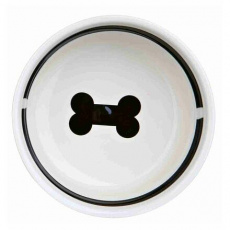 "Náhradní keramická miska ""Food"" pro #24640, ø 13 cm, bílá"