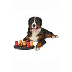 Hračka pes Dog Activity Solitaire kruh s kužel 29cm TR
